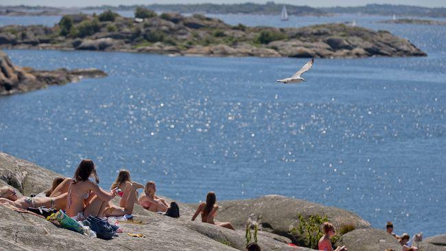 """Badgäster klagar till kommunen: """"För lite vatten i havet"""""""