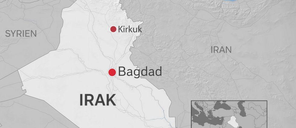 Karta Irak