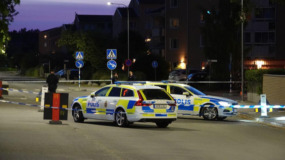 Pistolskott mot krog i ornsberg