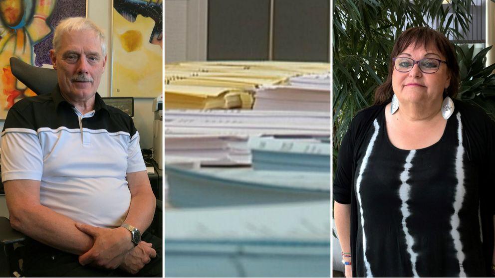 Björn Forsell (SD) och Erica Gunnarsson Kibowi (V) har som länsordförande båda sett hur deras partiet saknat kandidater i vissa kommuner.
