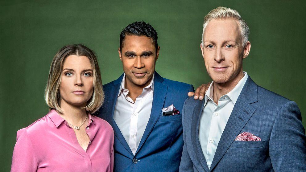 Johanna Frändén, Daniel Nannskog och André Pops