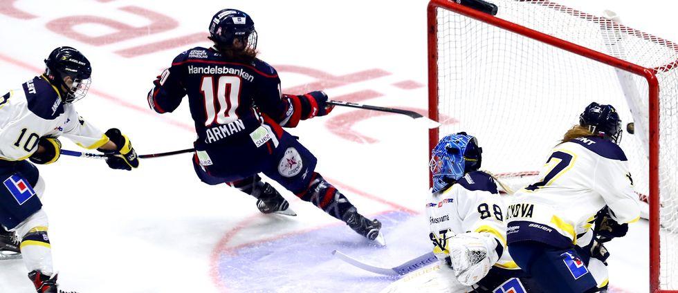 Georgina Farman, nummer tio, kommer närmast från Linköping.