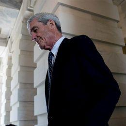 President Donald trump och utrdaren Robert Mueller.
