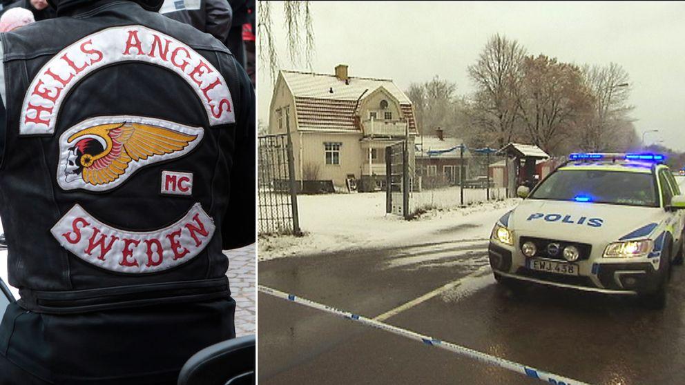 Hells Angels lokaler på Sjöstad i Karlstad.