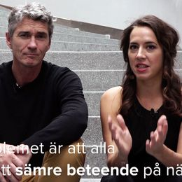 Johan Unenge och Frida Malmgren