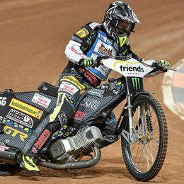 Fredrik Lindgren imponerade på nytt.