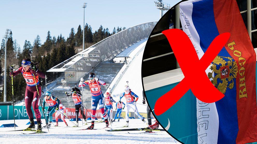 Ryssland arrangerar inga världscuptävlingar på två år.