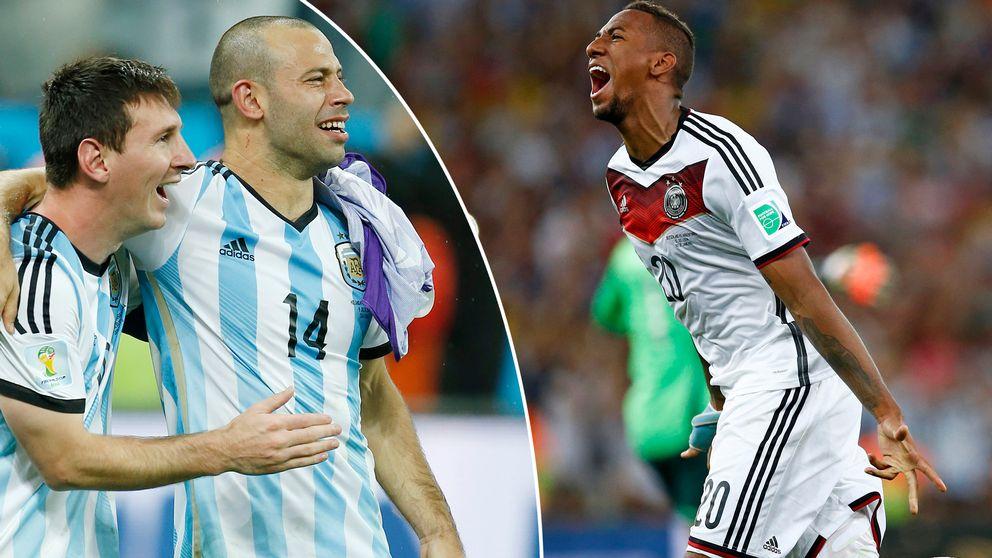 Vinner Argentina eller Tyskland VM?