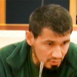 Rakhmat Akilov under rättegången i Stockholms tingsrätt