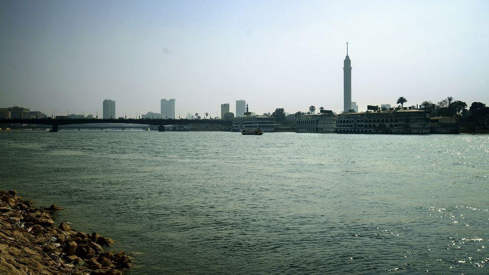 Nilen i Kairo.