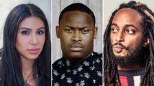 Komikern Melody Farshin, hiphop-artisten Lamix och sk?despelaren och komikern Ahmed Berhan har alla bakgrund i J?rvaomr?det.