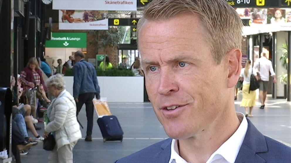 Linus Eriksson, trafikdirektör på Skånetrafiken