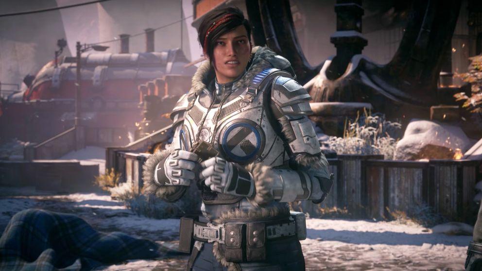 Kait blir den första kvinnliga huvudpersonen i ett Gears of war-spel.