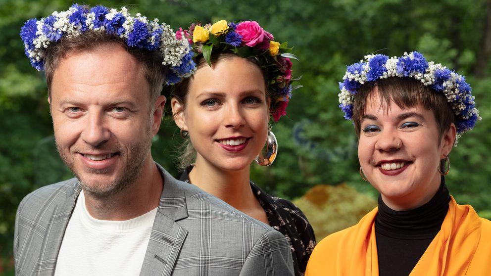 Olof Röhlander, Samantha Ohlander och Sara Parkman