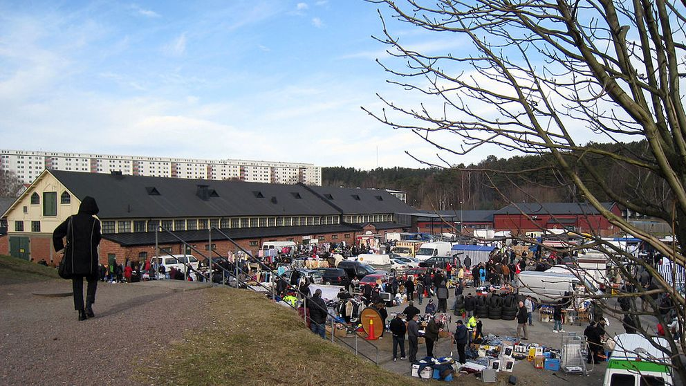 Kvibergs marknad i Göteborg.