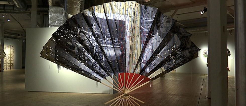 Kristina Müntzing, konstnär utställningen Kod arbetets museum