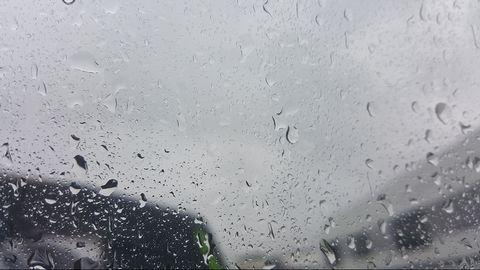Regn och åska i halländska Varberg den 17 juni.