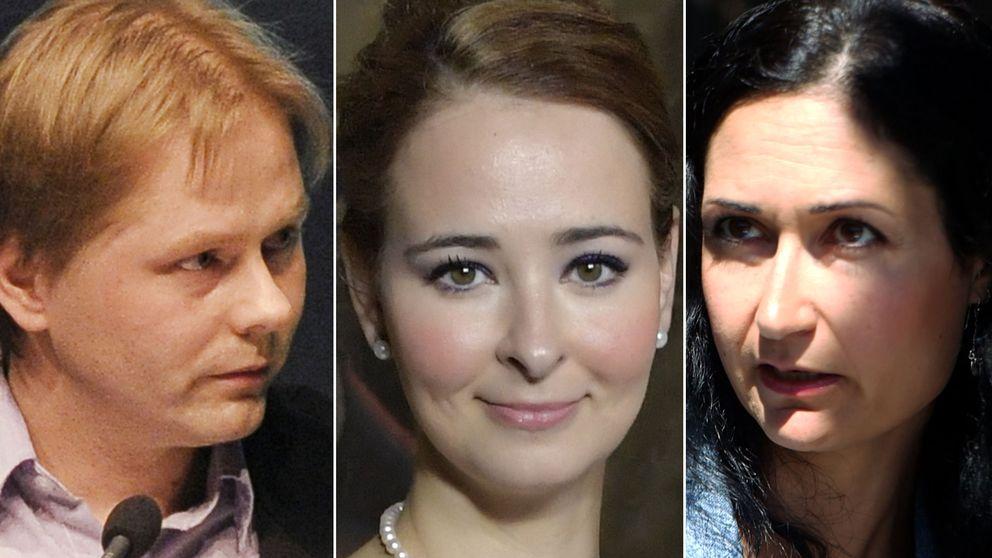 Anders Lindberg, Alice Teodorescu Sakine Madon är några av de ledarskribenter som engagerar på Twitter.