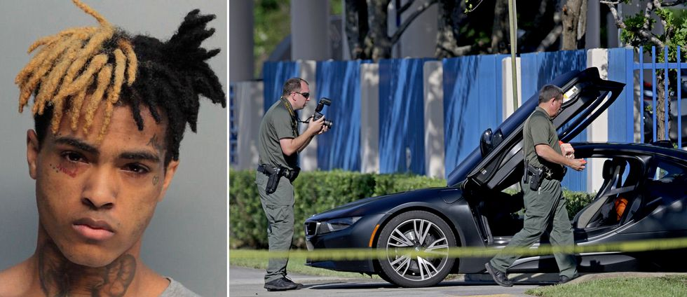 Rapparen XXXTentacion sköts till döds i sin bil under natten till tisdag svensk tid.