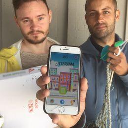 Johannes Barte och Calle Stödes nya gratisapp heter Litterama.