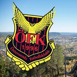 Sollefteå vy och ÖFK-logga