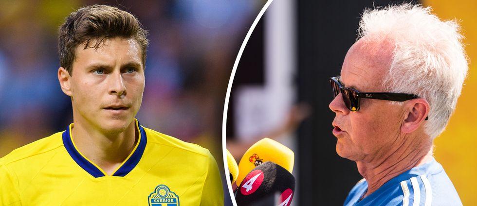 Sveriges landslagsläkare Anders Valentin berättar om turerna innan Victor Nilsson Lindelöf stoppades av feber.