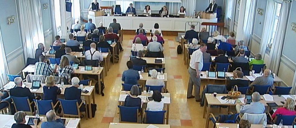 Regionfullmäktige i Västernorrland.