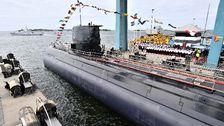 Ubåten HMS Gotland sjösätts