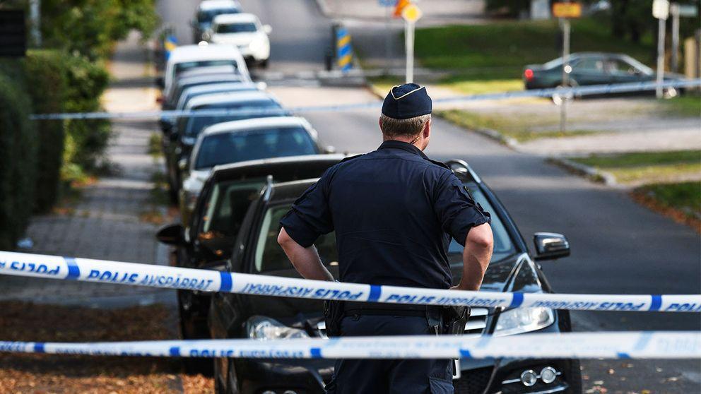 Mord på Varbergsgatan i Helsingborg