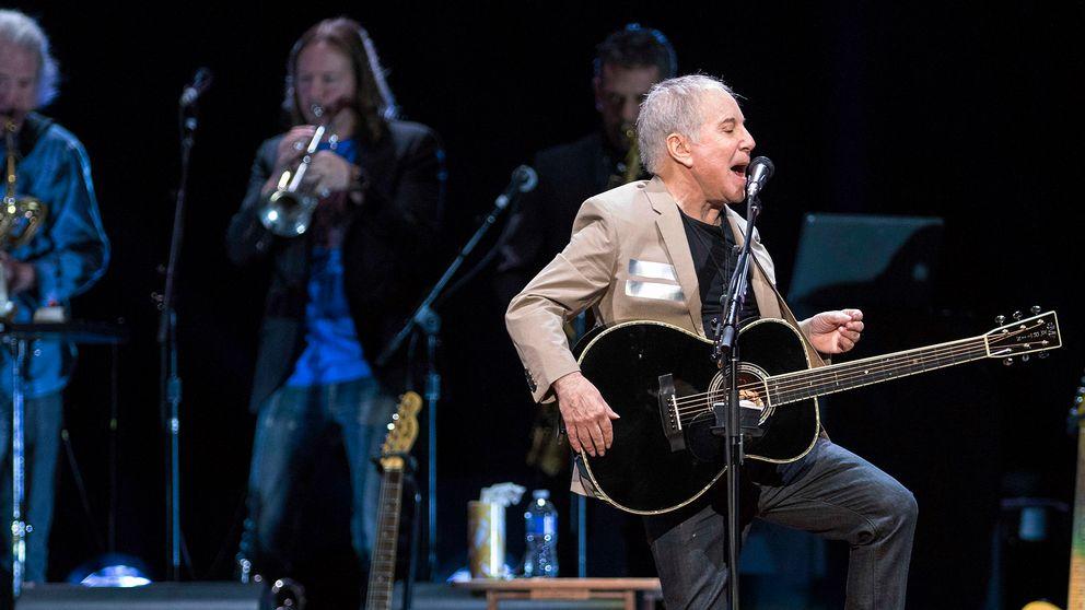 Paul Simon inleder sin Farewell tour i Vancouver, Kanada, den 16 maj i år.