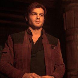 "Alden Ehrenreich som Han Solo i ""Solo: A Star Wars Story""."