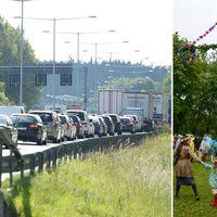 Så undviker du trafikkaoset i midsommar