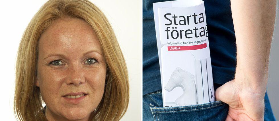 Jennie Nilsson (S), ordförande i näringsutskottet och riksdagsledamot från Halland och företagande.