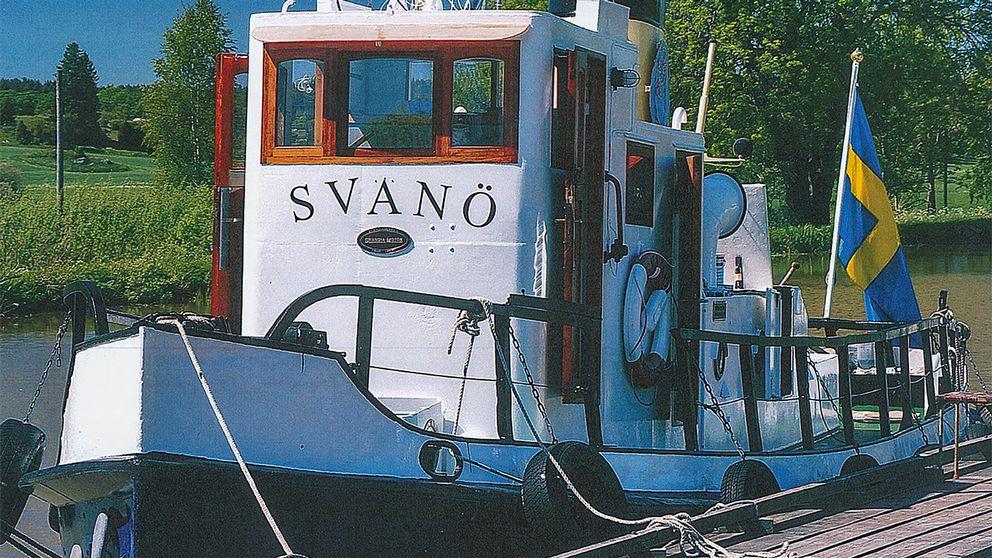 Svanö var fram till 1984 verksamt som arbetsfartyg på olika platser längs med Norrlandskusten.