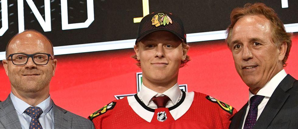 Adam Boqvist på draften,