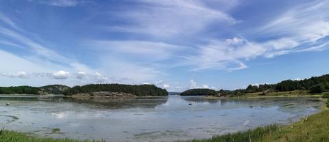 Fina moln, Mjörn, Bohuslän, 24/6