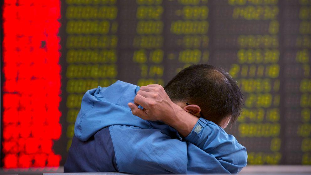 En kinesisk investerare i peking.