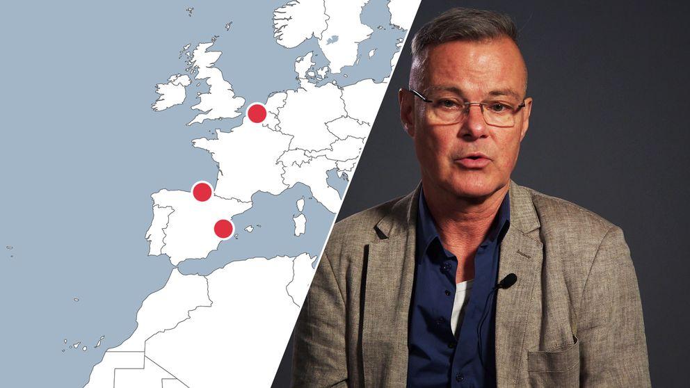SVT:s reporter Claes JB Lövgren