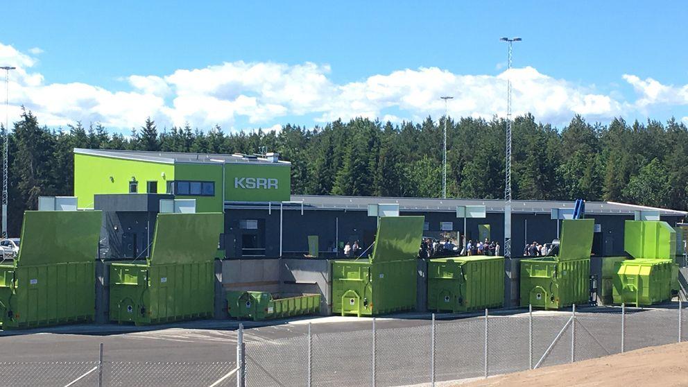 återvinningscentral kalmar öppettider