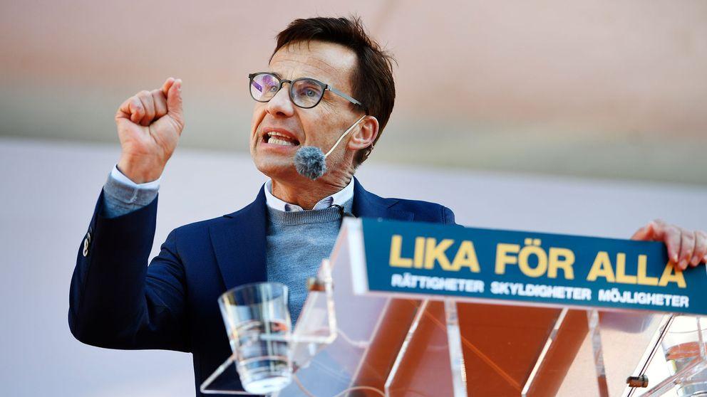 Ulf Kristersson (M) talar i Almedalen