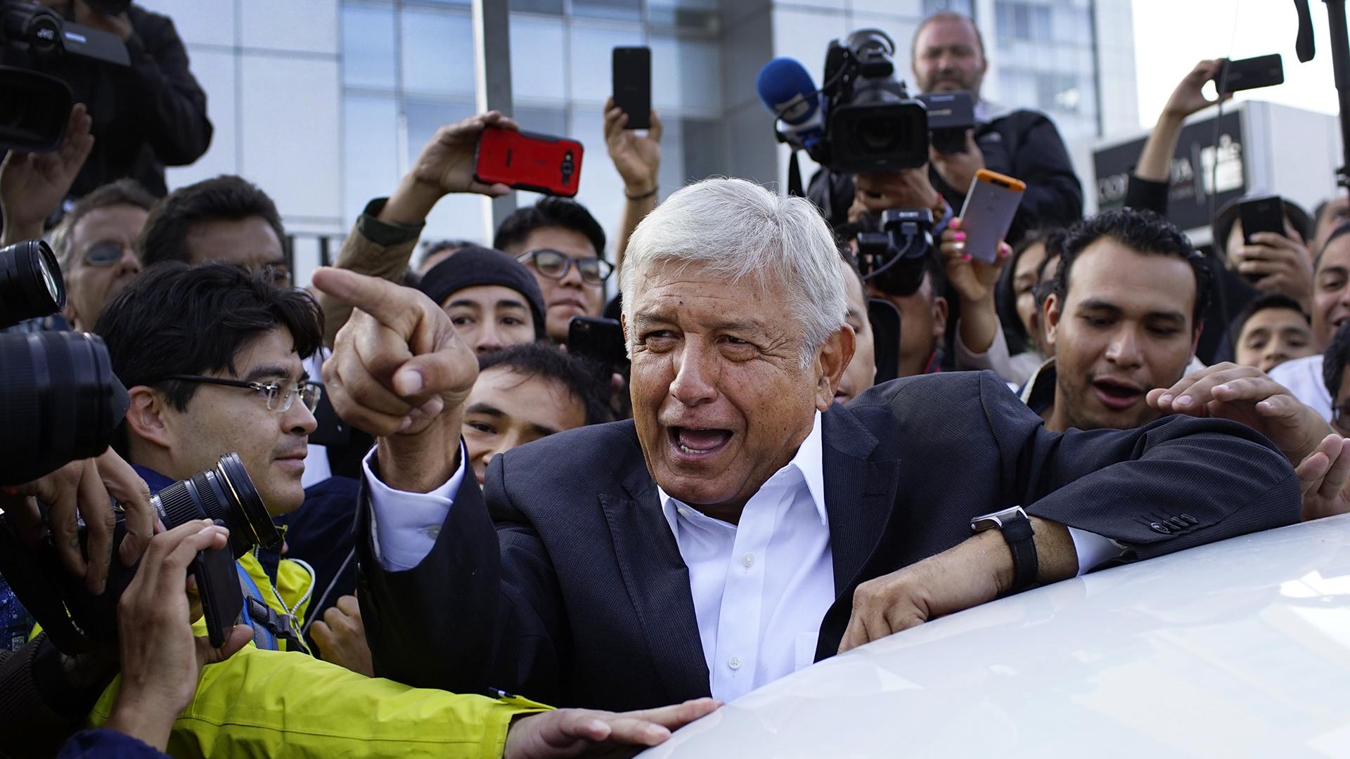 Mexiko ny chans for vansterkandidat