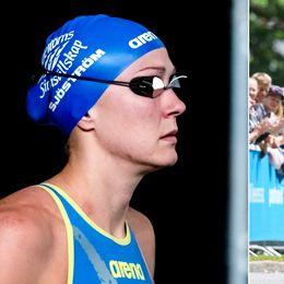 Sarah Sjöström och Ida Erngren.