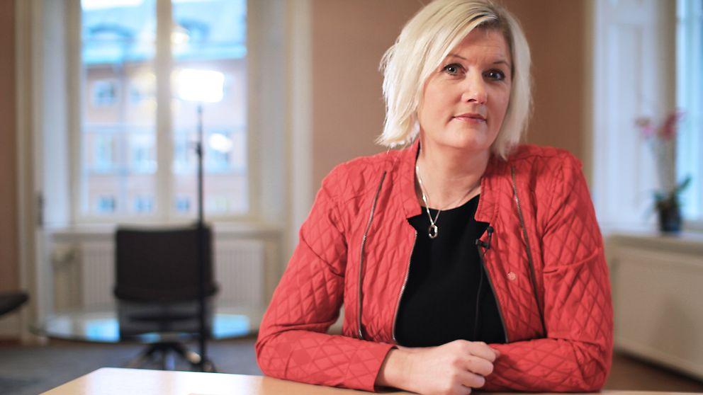 #partirösten – webbsatsning på SVT Opinion där varje riksdagspartis partisekreterare svarar på frågor om ideologisk grund. Lena Rådström Braastad från Socialdemokraterna.