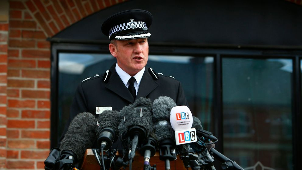 Brittisk antiterrorpolis: Skadade utsatta för nergiftet novitjok