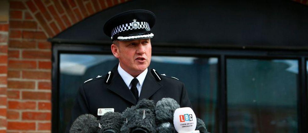 Brittisk antiterrorpolis: Skadade utsatta för nervgiftet novitjok