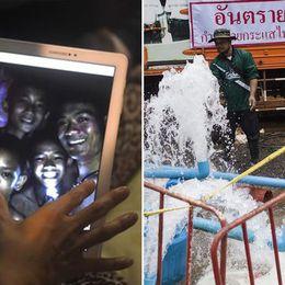 Nya lösningen: Vattenpumpar ska rädda pojkarna