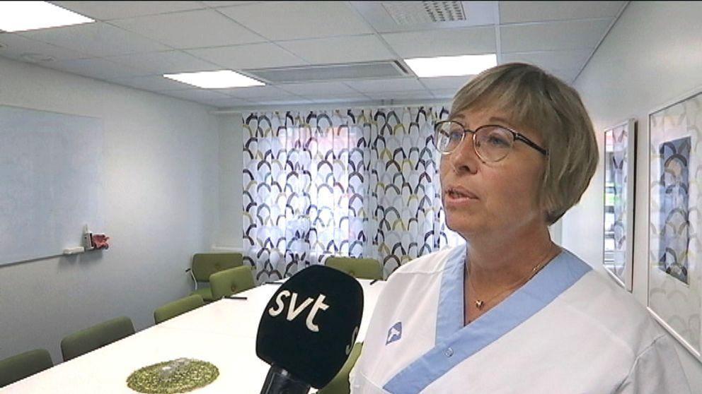 Maria Byström Wänstedt är tillförordnad verksamhetschef på Folktandvården.