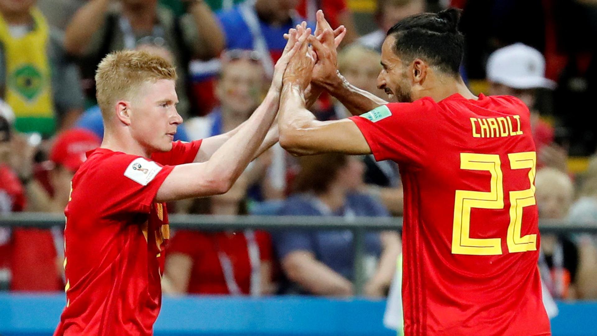 Så var Brasilien–Belgien – minut för minut  4eed0b229e3b3