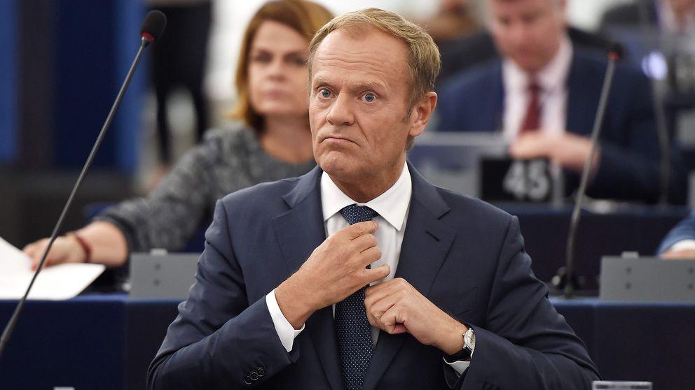 EU:s permanente rådsordförande Donald Tusk.