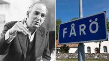 Ett späckat schema står för dörren på Bergman center på Fårö under lördagen.